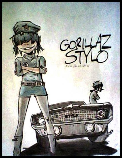 Gorillaz by TheBlackParade
